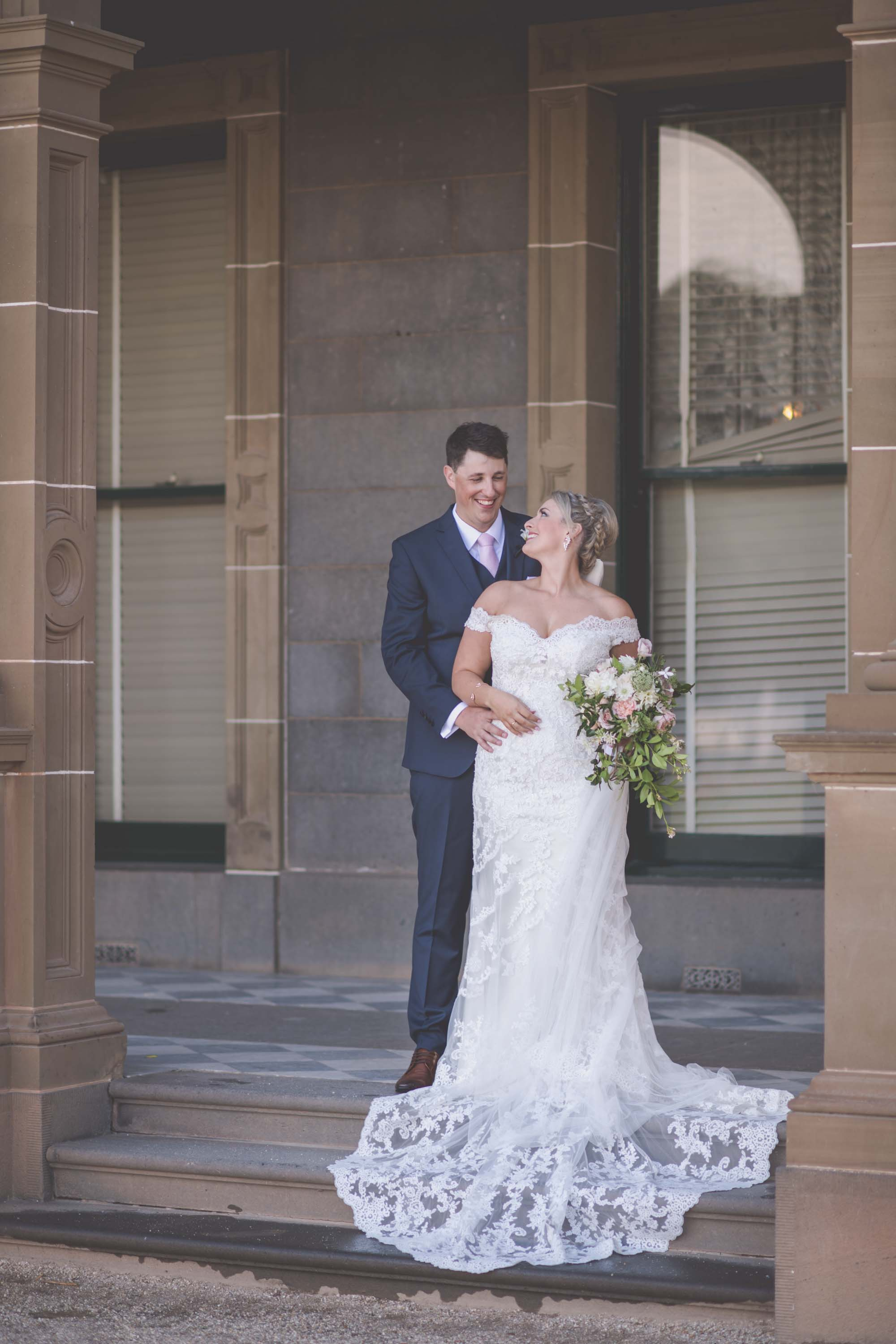 Wedding photography by Pause the Moment at Werribee Mansion